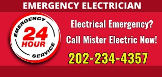 emergency electrician DC 202-234-4357